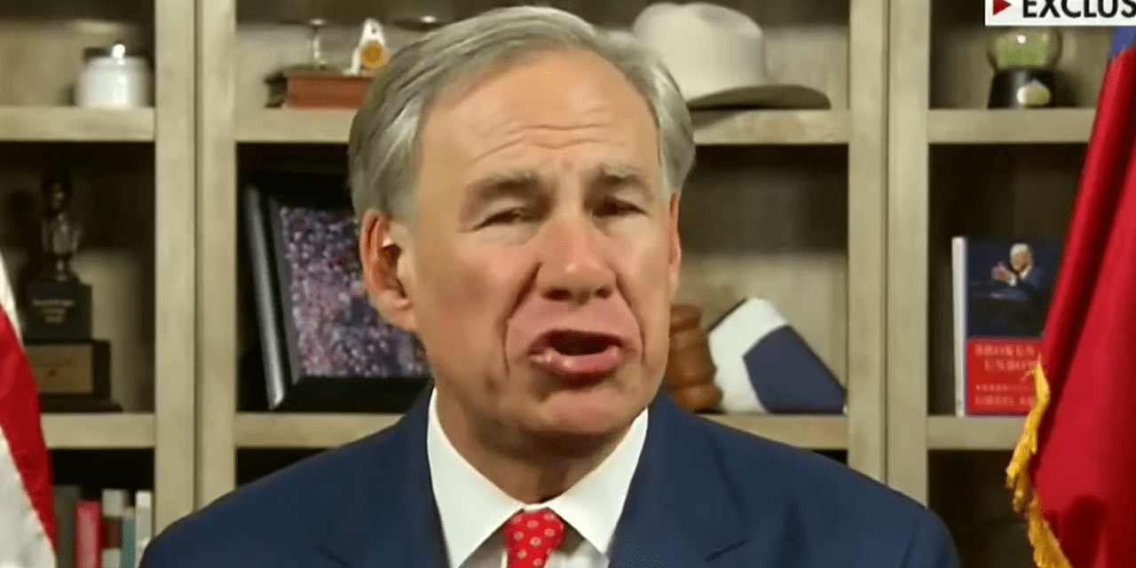 Texas GOP governor says Democratic election reform bill will lead to 'using cocaine to buy votes'