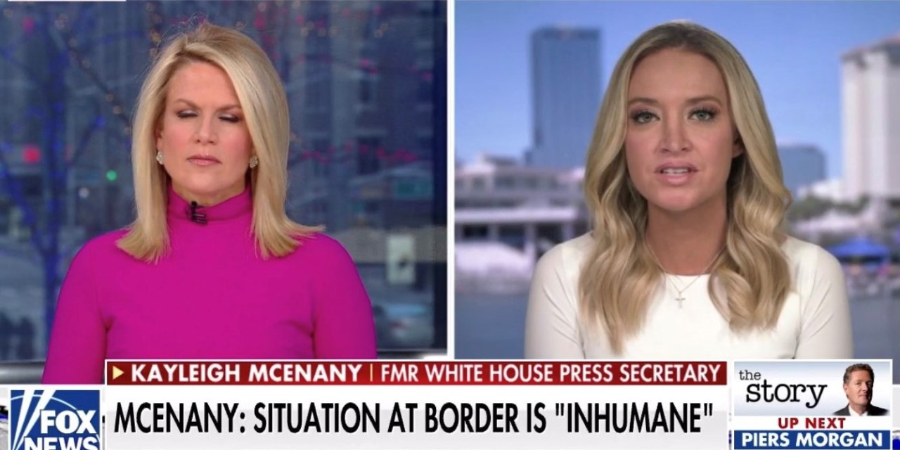 Kayleigh McEnany gets destroyed for saying that 'conditions on the border are inhumane'