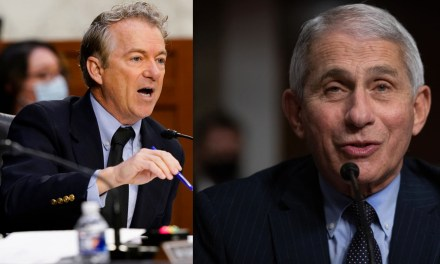 Fauci hits Rand Paul with a stunning fact check when the senator begins spouting lies