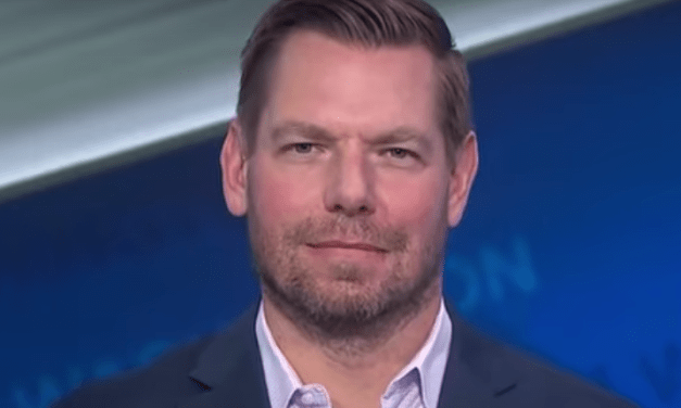 Eric Swalwell educates Marjorie Taylor Greene and her 'marauding goons'