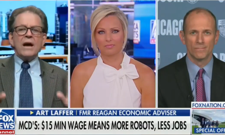 Conservative economist tells Fox News: The poor and minorities 'aren't worth $15 an hour' wage