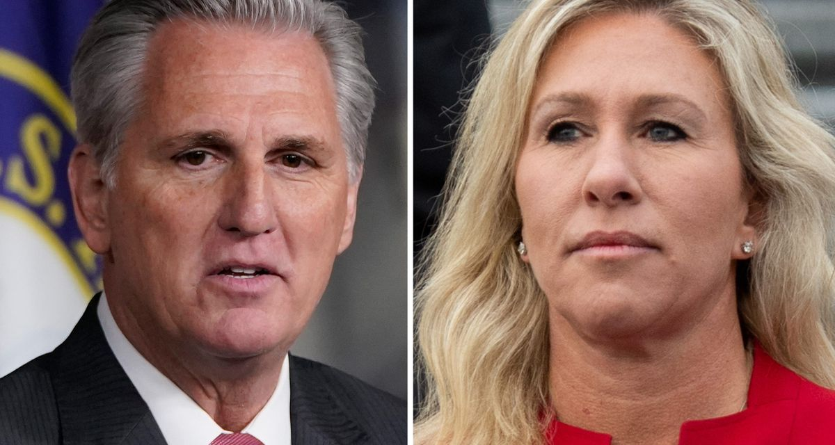 McCarthy may put Marjorie Taylor Greene on 1/6 committee to placate Trump