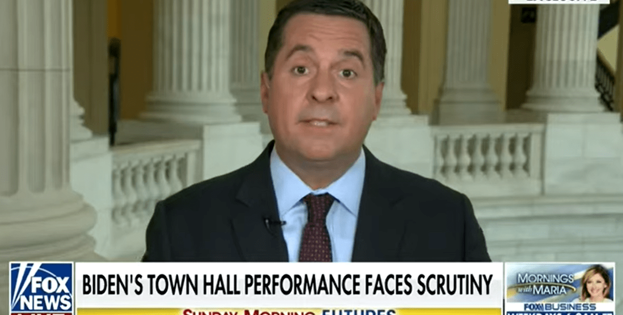 Nunes claims the administration may use 'computer graphics' to fake Biden's speeches