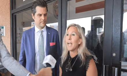 Gaetz and Greene get the door locked in their faces when they go to visit Jan. 6 'political prisoners'