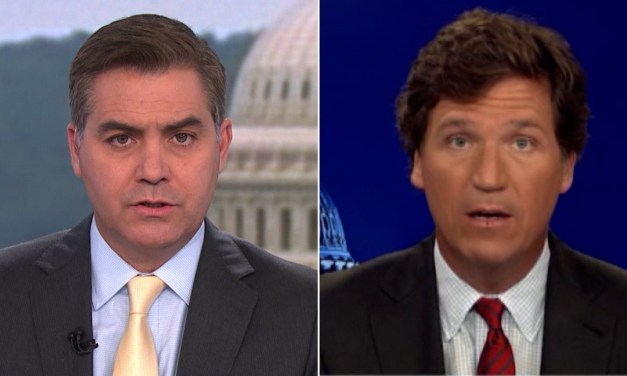 CNN's Jim Acosta calls Tucker Carlson a 'human manure spreader'
