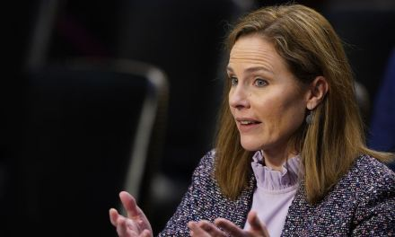 SCOTUS Justice Amy Coney Barrett claims the high court isn't a 'bunch of partisan hacks'