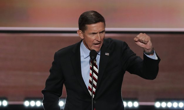 Michael Flynn says the 'deep state' is planning to put the COVID vaccine in your salad dressing