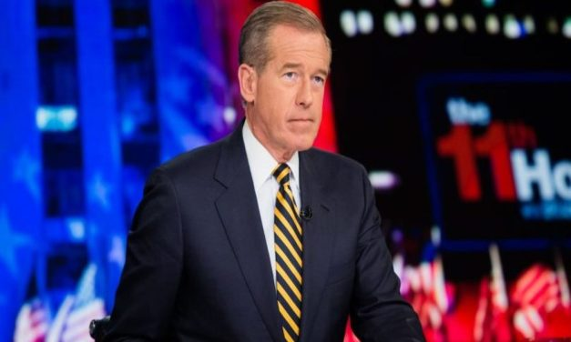 Brian Williams hilariously zings One America News: 'Angle your tinfoil hat just right' to tune in