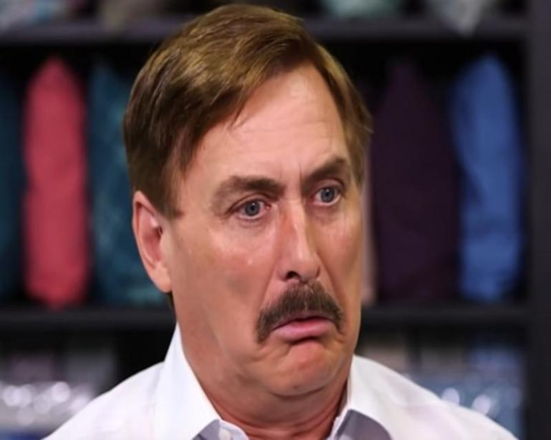 Mike Lindell now claims 850-year-old people voted in the 2020 election