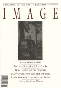 Barry Moser featured on the cover of Image issue 21