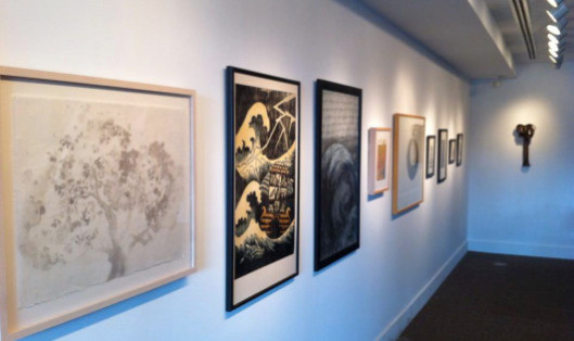 Artwork on Display at Square Halo Gallery