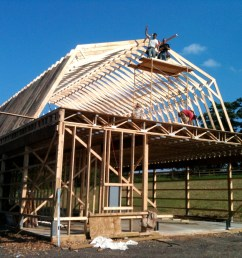 two story pole barn [ 1500 x 1125 Pixel ]