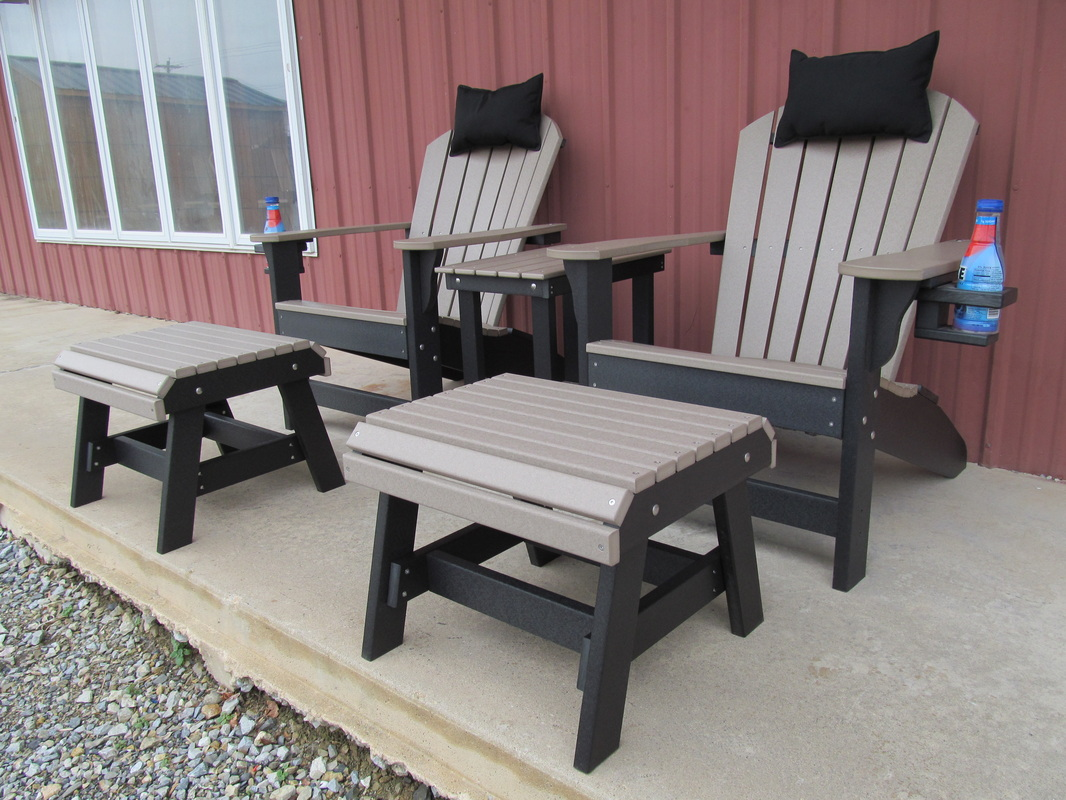 patio chairs with footrests desk chair size lancaster poly patios - home