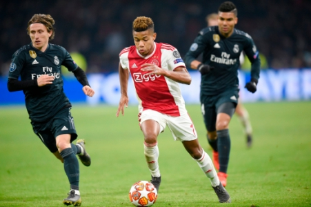 David Neres - Ajax x Real Madrid