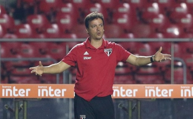 Fernando Diniz - São Paulo x Santos