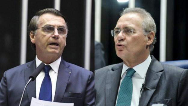 Bolsonaro + Renan Calheiros