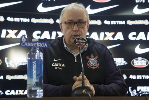 Presidente do Corinthians, Roberto de Andrade