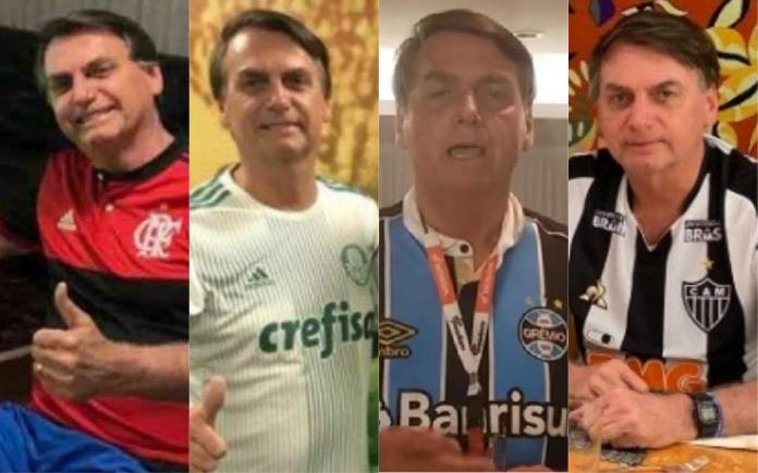 Bolsonaro com uniforme de time após cirurgia: Veja as camisas que o  presidente já vestiu – Galerias