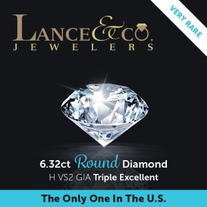 6.32ct Round Diamond  RDI