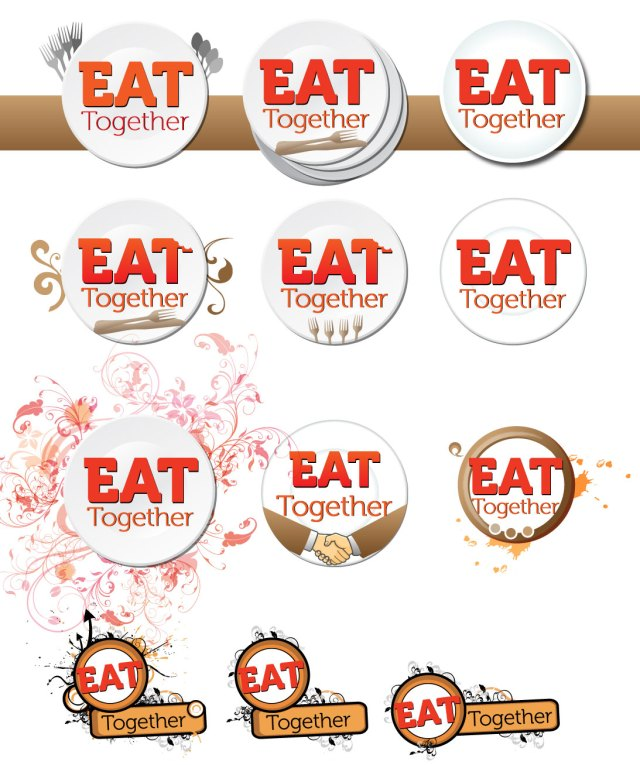 Eat Together Logo Development