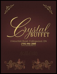Crystal Buffet's 2012 Mountain Life Magazine ad