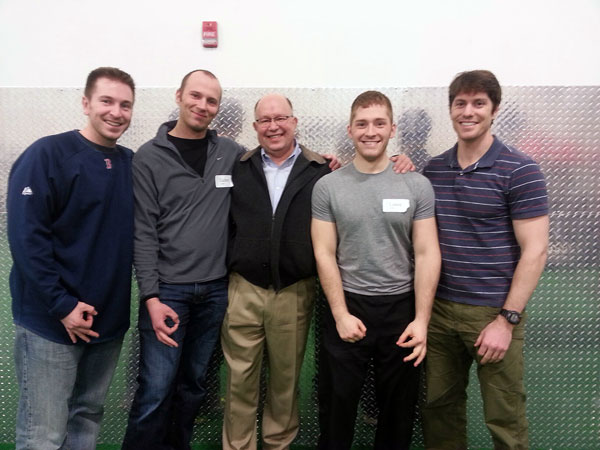 From Left: Connor Ryan, Zac Cupples, Ron Hruska, Myself, and Doug Kechijian