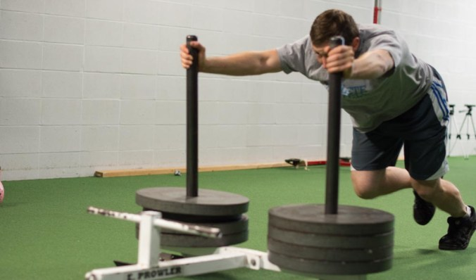The Prowler is great for placing demands on your energy systems