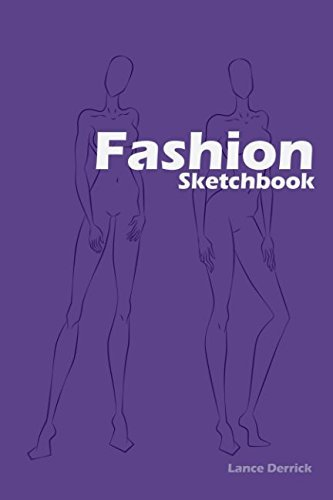 100+ Figure Template Fashion Sketchbook: Easily create your fashion illustrations with figure templates