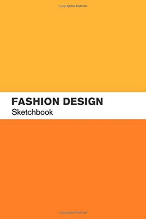 Fashion Design Sketchbook: Fashion Sketch book with lightly drawn figure templates for Fashion Designers