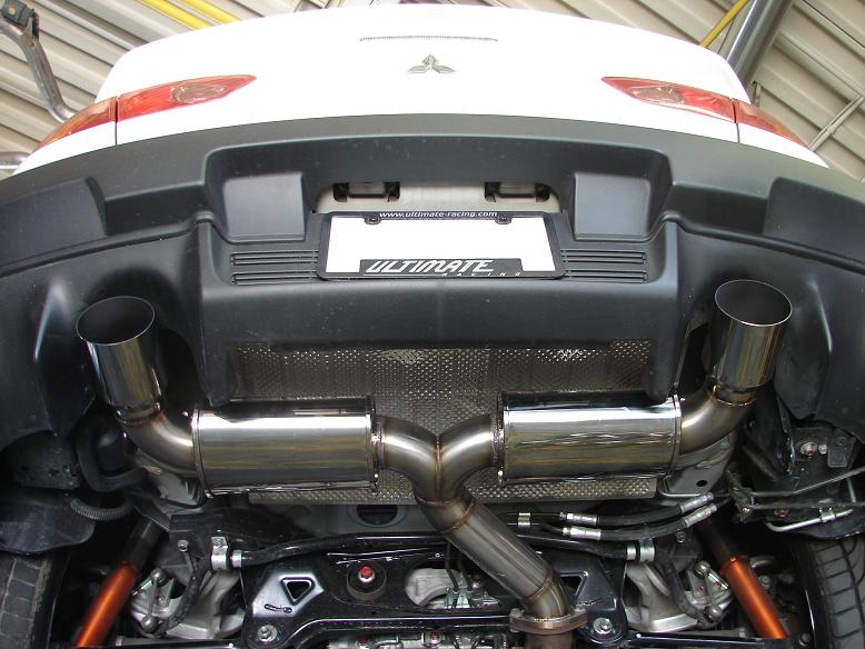 ultimate racing dual exit catback