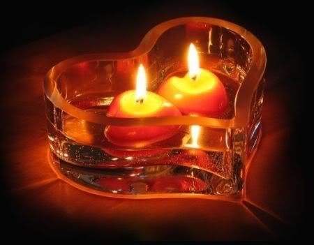 Twin Flame Candle