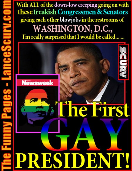The First Gay President