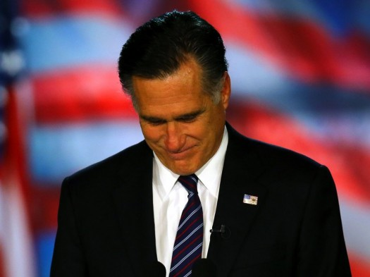 Mitt Romney After Defeat