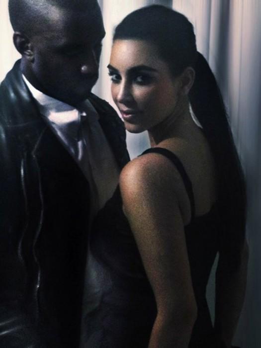 Kim Kardasian & Kanye West