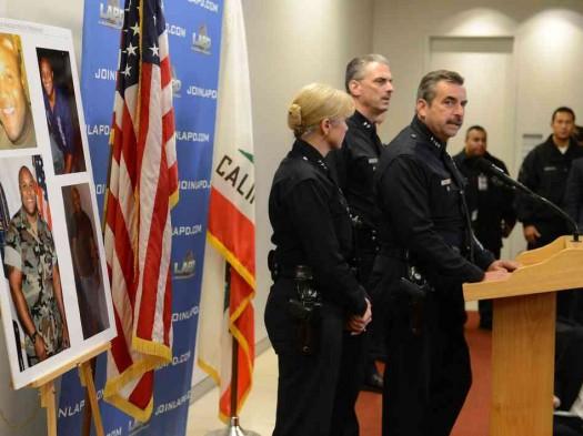 Press Conference LAPD Dorner