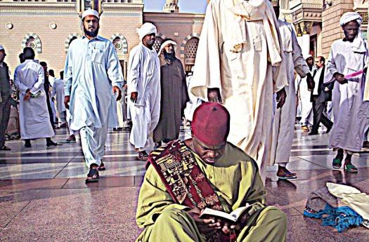 Malik Aziz in Madinah