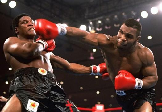 Mike Tyson beats Trevor Berbick