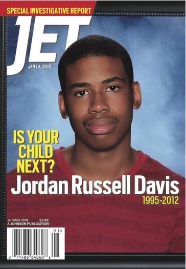 Jordan Davis Jet Magazine Cover