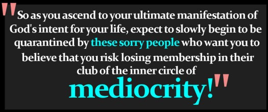 Mediocrity Graphic