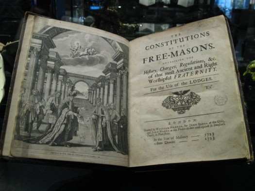 Masonic Old Charges Constitution