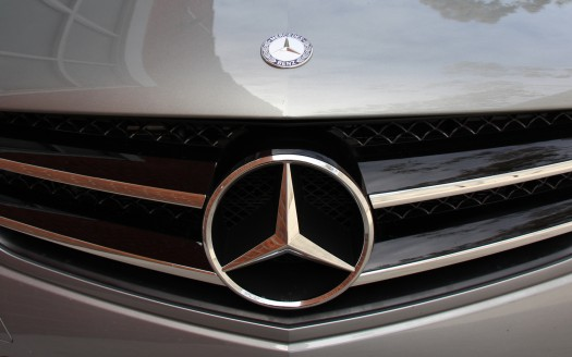 Mercedes Grille