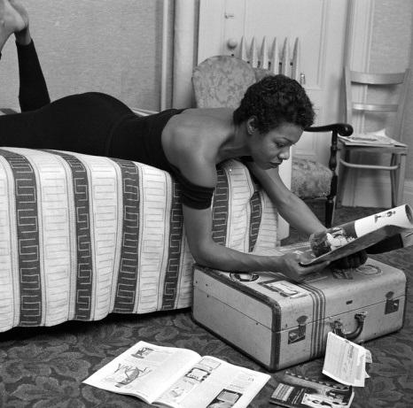 Maya Angelou Across Bed