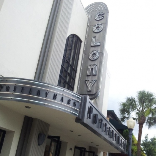 The Colony Theater Google