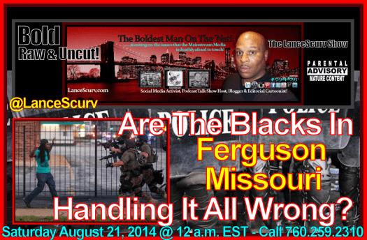 Ferguson Blacks Graphic Ad