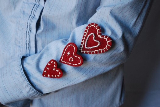 Wearing Your Heart On Your Sleeve - Help