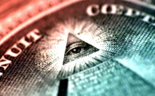 new world order all seeing eye pyramid dollar - power