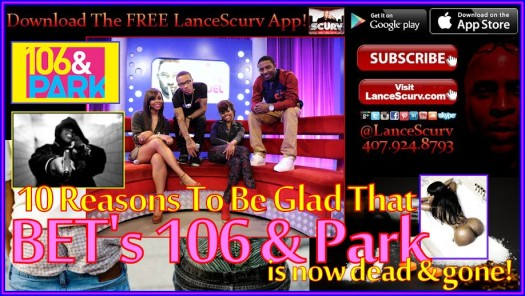 106 & Park BET Graphic