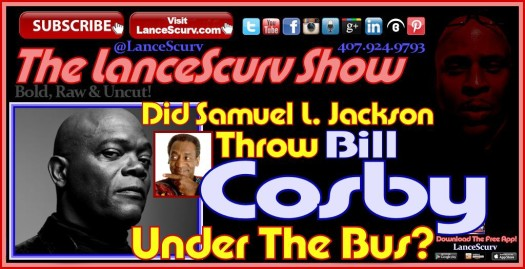 Samuel Jackson - Bill Cosby Graphic