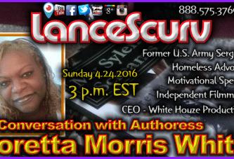 A Conversation with Authoress Loretta Morris White! – The LanceScurv Show