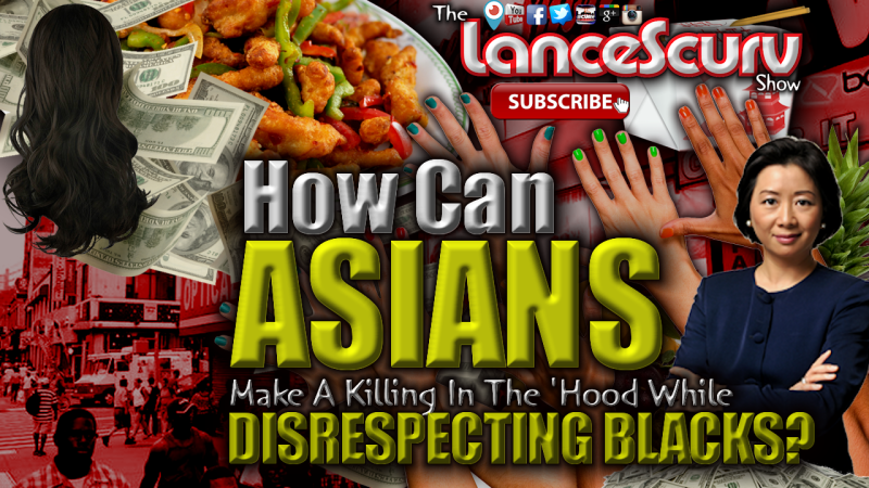 Asians Disrespecting Black People